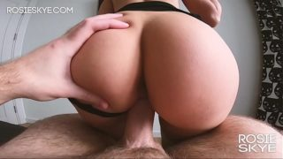 Small White Girl With Phat Ass Booty Gets Fucked – Real Amateur Rosie Skye
